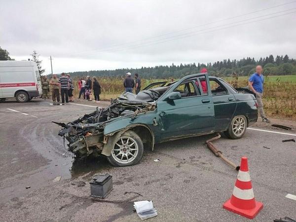 ВДТП наТеппилицком шоссе вЛенобласти пострадали 5 человек