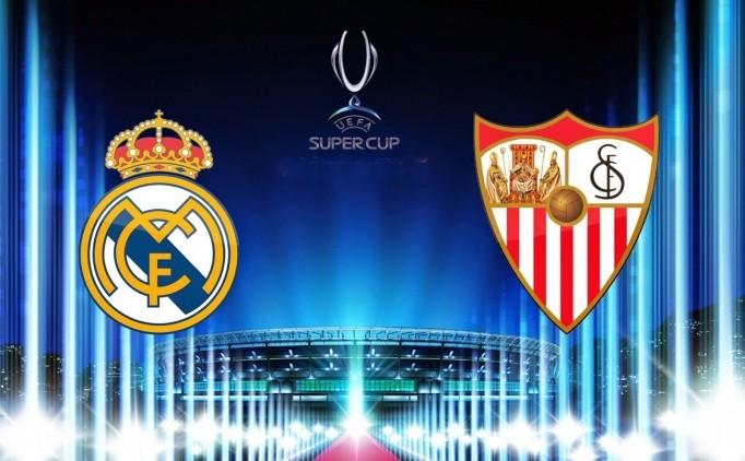 «Реал» и«Севилья» оспорят Суперкубок Европы