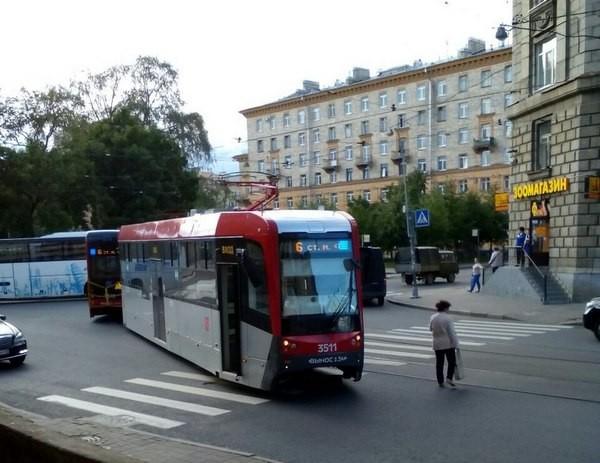 Неудачный день для трамваев