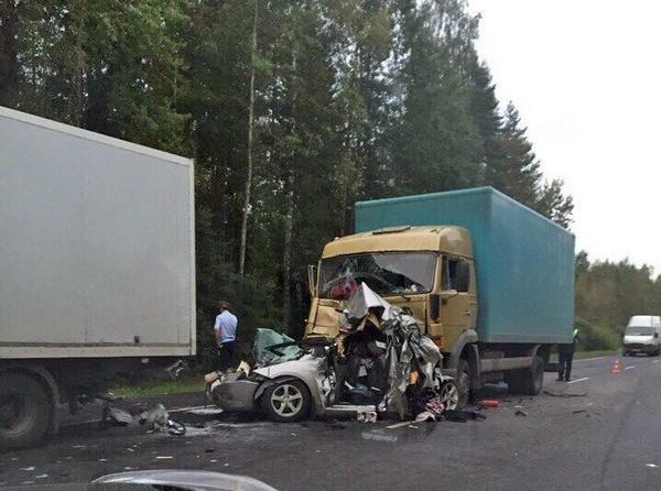 Вмассовой трагедии наМурманском шоссе погибли два человека